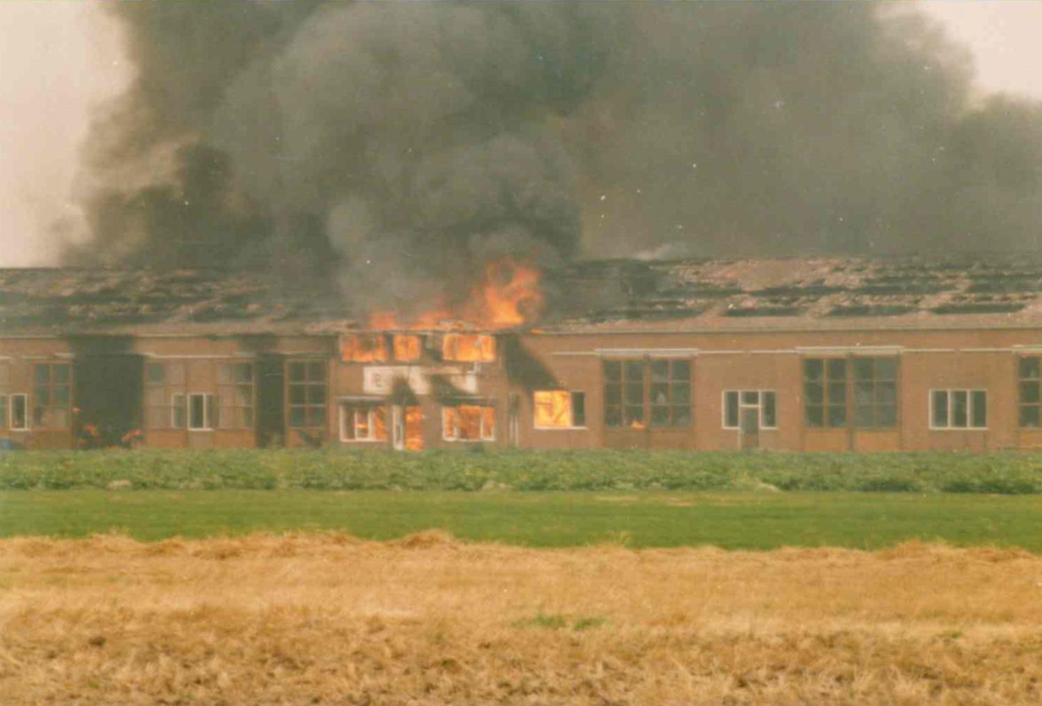 Verwoestende brand