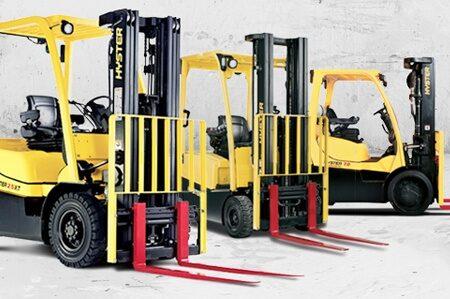 Hyster elektrische vorkheftrucks 1.5 - 5.5 ton