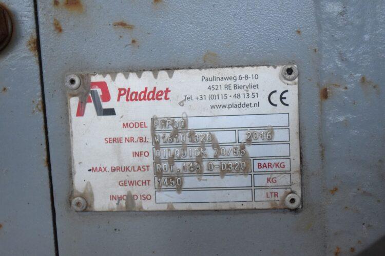 Betonschaar PMP30 met verwisselbare bekken