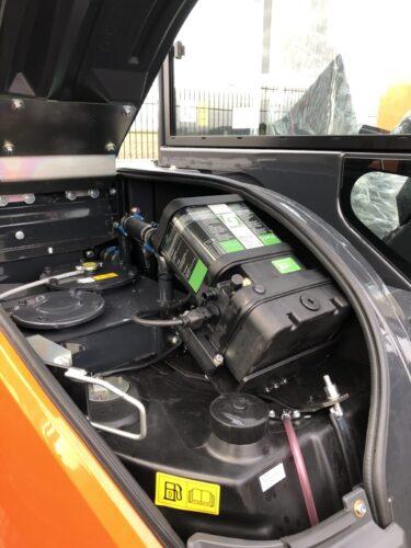 Graafmachine Hitachi ZX65USB-6 MLC den Boer